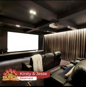 The Block 2021 Theater winning room
